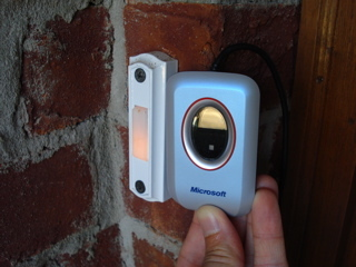 reader Doorbell Button