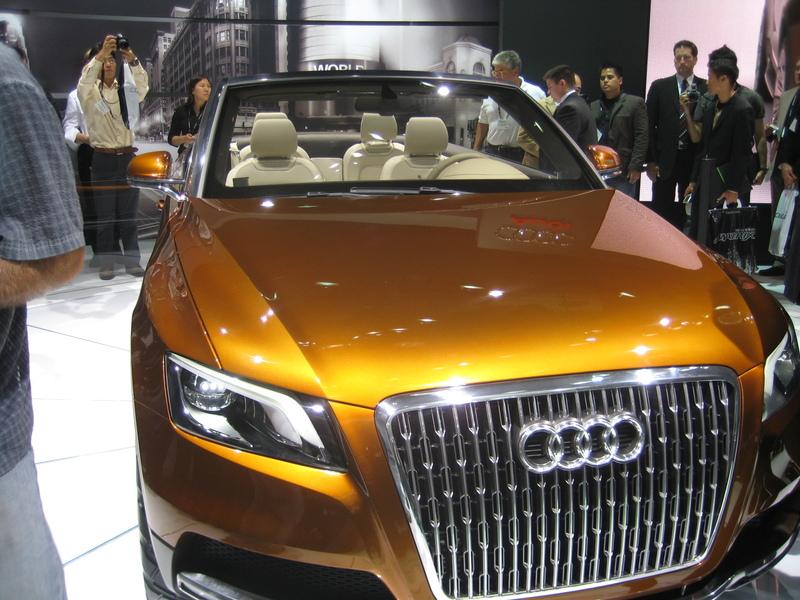 Popular Science Blog LA Auto Show The Audi American Concept Car - Audi car number